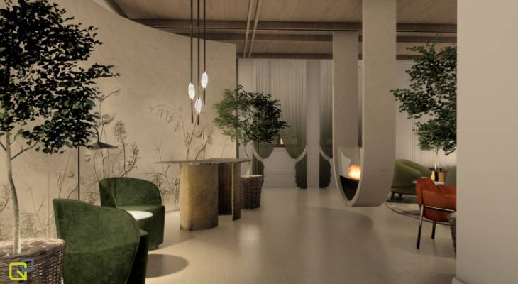 Design renders of what the new location will look like once complete have also been revealed, showcasing a stylish and contemporary space created by Q